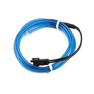 WEIHAN Multifonctionnel 1 M Coloré Flexible EL Fil Tube Rope Neon Light Glow Voiture En Plein Air Partie Discothèque Maison Décoration Lumière