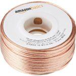AmazonBasics Câble audio pour haut-parleur Calibre 16 Section 1,3 mm² Longueur 30,48 m