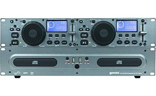 Gemini CDX2250 Lecteur multimédia Noir
