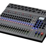 Zoom Zoom Digital Mixer LiveTrak L-20 18 Centimeters Noir (Black)