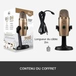 Blue Microphones Yeti Nano USB Microphone pour Enregistrement et Streaming, Rouge