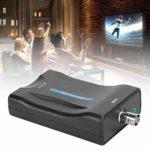 BNC vers HDTV Convertisseur Surveillance vers HDTV Adaptateur Affichage Haute Définition 1080P/720P Pertes