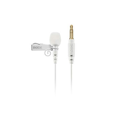 RØDE Lavalier GO Microphone portable de qualité professionnelle Blanc Lavgow