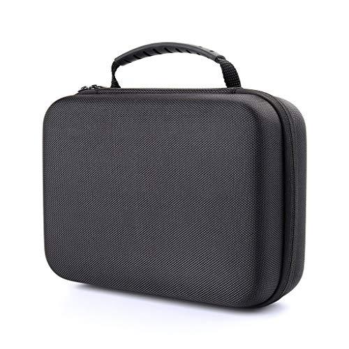 chenpaif Sac de Rangement, étui de Transport Portable Professionnel Boîte de Sac de Rangement en EVA Dur pour Zoom H1 H2N H5 H4N H6 F8 Q8 Accessoires pour enregistreurs de Musique Pratiques