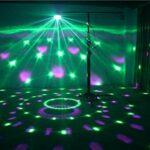 YXB Lumières Disco avec Couleur RGB-7, Activation sonore et télécommande Lumières de Boule stroboscopique de scène Disco – Idéal pour Les Enfants Fête d'anniversaire Dance Holiday KTV Gym Band.