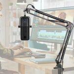 Elgato Wave 3 Support Microphone Professionnel Réglable Tube de Fixation Compatible avec Micro USB à condensateur Elgato Wave 3 par YOUSHARES