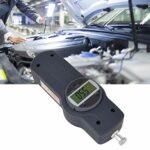 Jauge de force-dynamomètre à affichage numérique Jauge de force testeur de poussée et de traction avec 5 têtes latérales(50)
