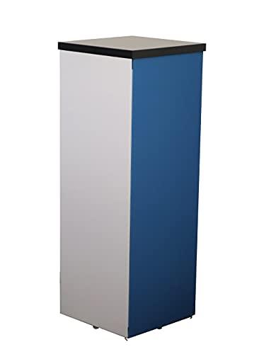 Eigenproduktion Tower Absorbeur acoustique Bleu/blanc