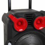 OverTop Chariot Bluetooth Audio Speaker Light Chant Écran TFT USB TF BT Karaoké KTV System