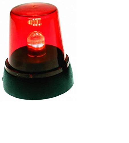 Relaxdays 2 x LED Signal Lamp All-Round Light Red
