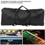 Sac de Piano électronique en tissu Oxford Sac pour orgue électronique étanche léger pour clavier électrique à 61 touches pour les voyages