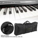 Sac de Piano électronique Sac de Piano électronique en tissu Oxford durable pour les amateurs de piano pour clavier électrique à 61 touches