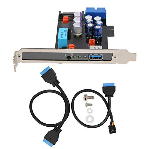 Mxzzand Module Power Filter – Pratique – USB – Avec surveillance automatique.