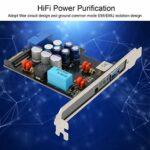 Mxzzand Module Power Filter USB Power Filter Fiable, pratique avec plastique
