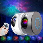 SMDMM Galaxy projecteur étoile lumière LED veilleuse nébuleuse projecteur Chambre décor Ciel étoilé veilleuse Starlight projecteur (Color : White)