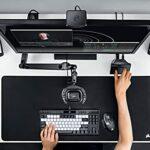 Elgato Wave XLR – Interface pour Micro, XLR/USB-C, Anti-écrêtement, préampli de 75 DB, Alimentation fantôme, Monitoring Direct, Bouton Mute Tactile, Application de mixage numérique Wave Link