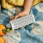 Pisamhid Étui en Silicone Compatible pour Haut-Parleur pour Sonos Roam Haut-Parleur Bluetooth Portable Housse De Peau Douce avec Crochet Housse De Protection en Gel Portable Et Étanche pour La Peau