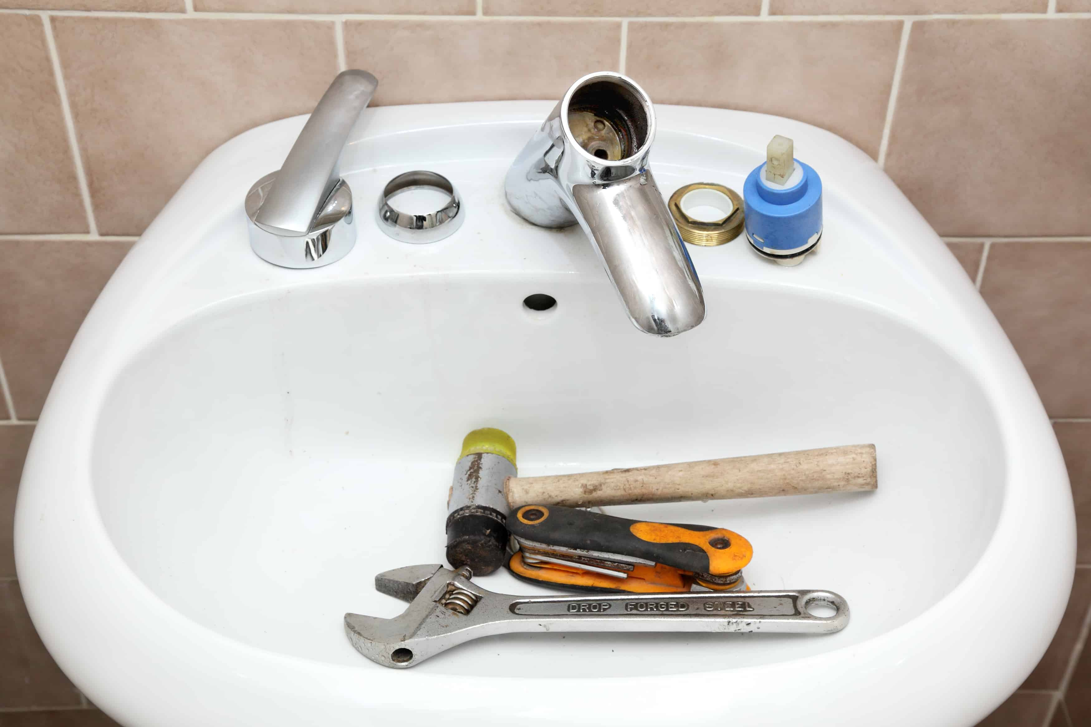 a leaky faucet in your kitchen or bathroom