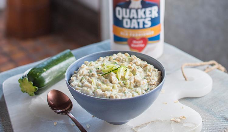 microwave zucchini oatmeal