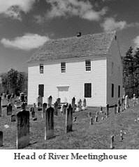 An Atlantic County Methodist Episcopal Meetinghouse. Picture from NJChurschape