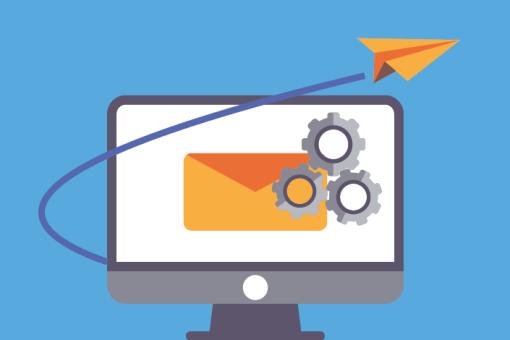iIlustration de l'automatisation e-mail marketing gratuit par mailchimp