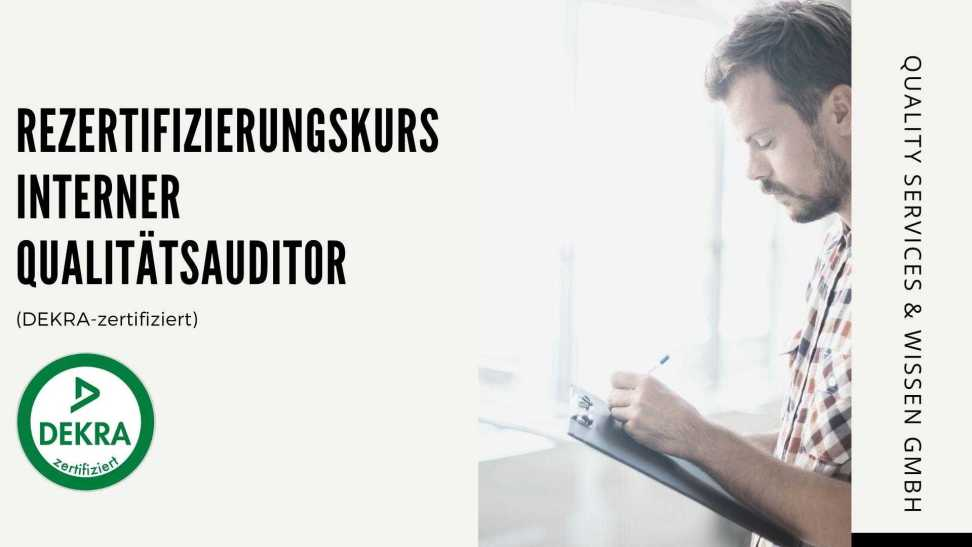 rezertifizierungskurs interner qualitatsauditor dekra certificated