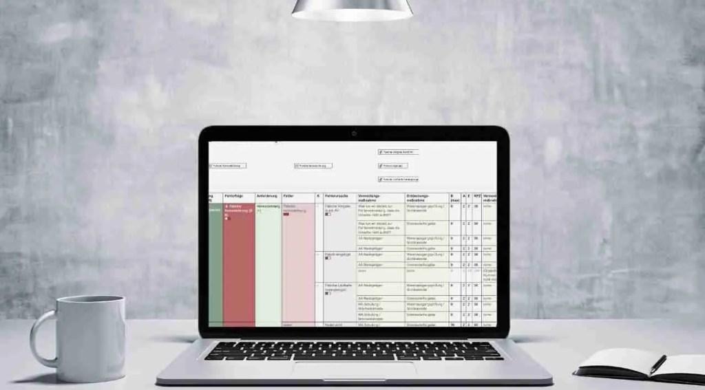 """""""FMEA in Excel? Lassen Sie das sein!"""""""
