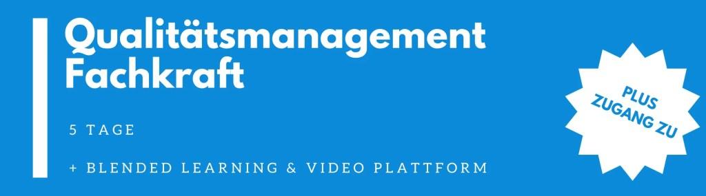 Qualitätsmanagement Fachkraft | QM Fachkraft