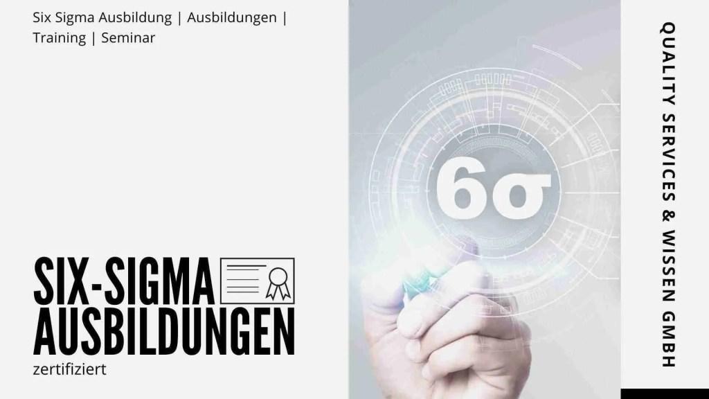 Six Sigma Ausbildung | Ausbildungen | Training | Seminar – Zertifiziert