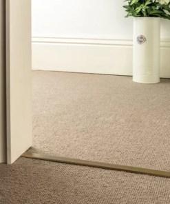 carpet to carpet trim slim d antique brass