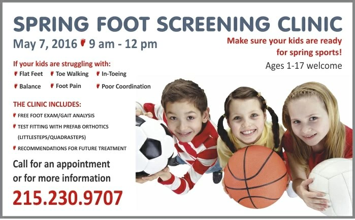 Spring Kids Clinic Website Graphic