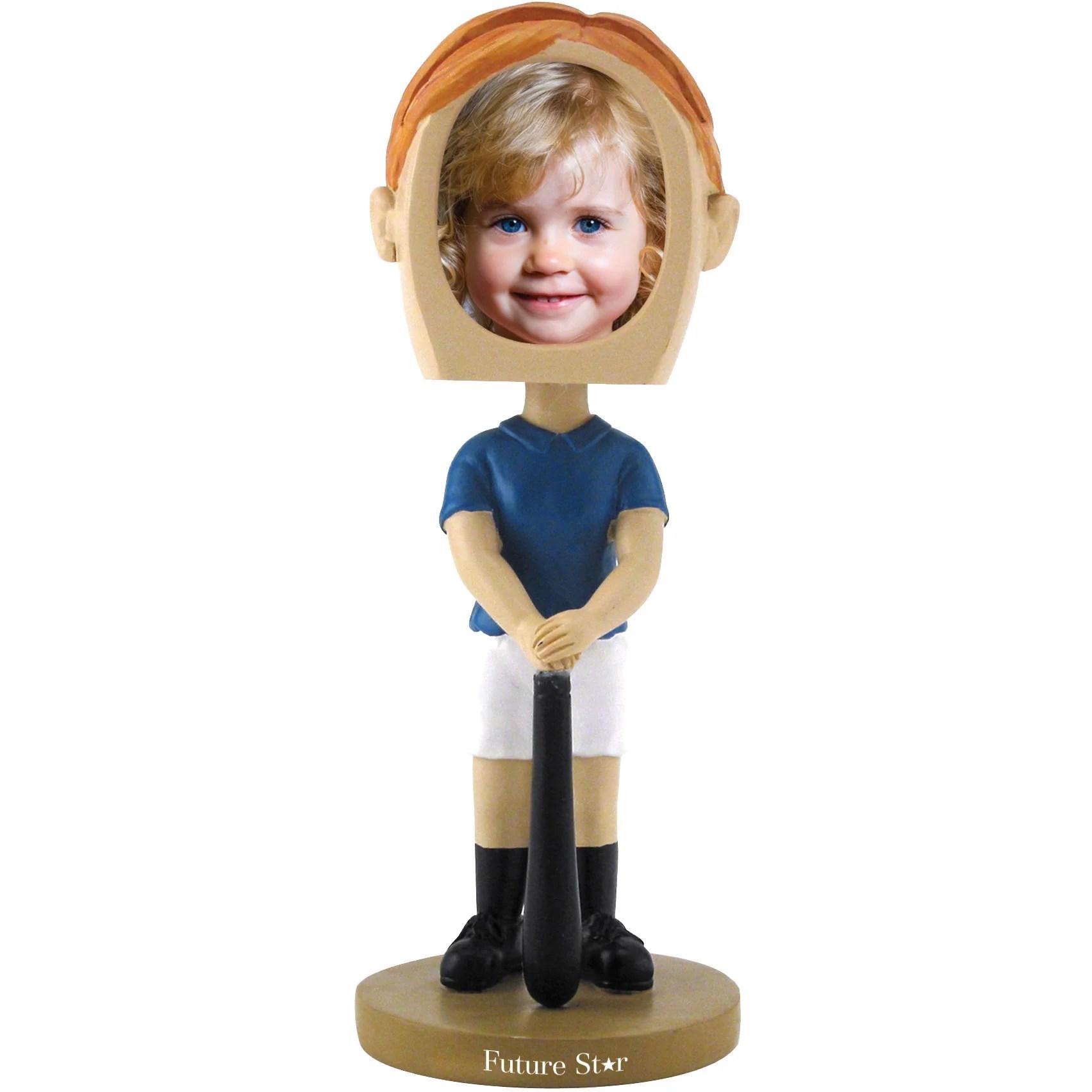 Girl S Softball Single Bobble Heads