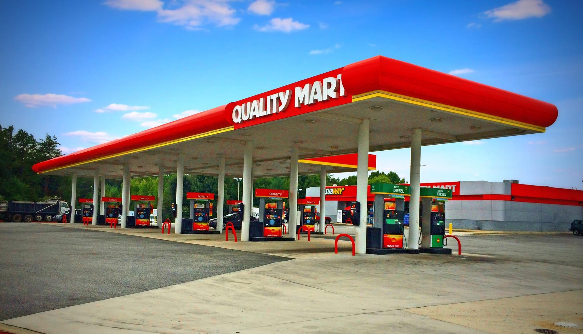 What gas stations high-quality gasoline 92