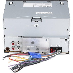 JVC KWR710 MOSFET Color inDash Amplifier Embedded 4Channel Digital Media Receiver with