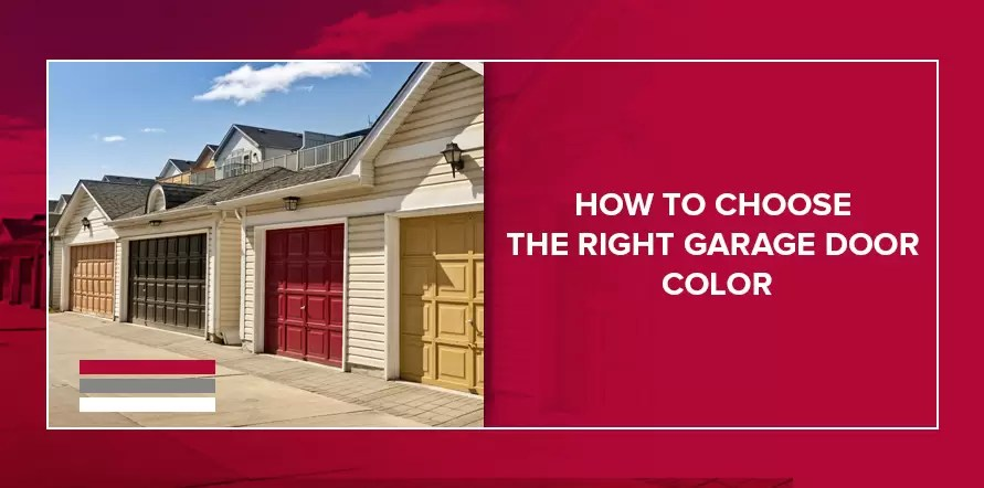 How to Choose a Garage Door Color - Quality Overhead Door on Choosing Garage Door Paint Colors  id=84789
