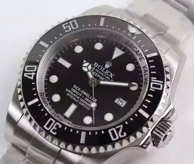 Swiss Rolex Deepsea Sea Dweller Diamond 43mm Automatic Replica Watch Super Model