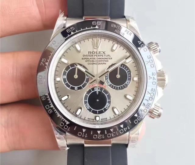 Replica Rolex Daytona Swiss Automatic Watch 116519ln 0024 Gray Dial High End