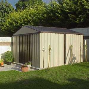 steel garden shed