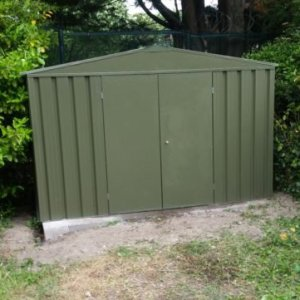 flat pack garden shed