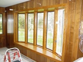 bow window installation, Milwaukee, butler, wi,