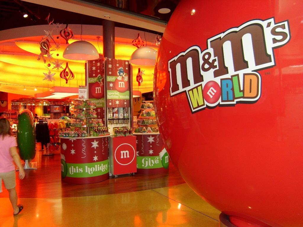 M&M's World Orlando doce