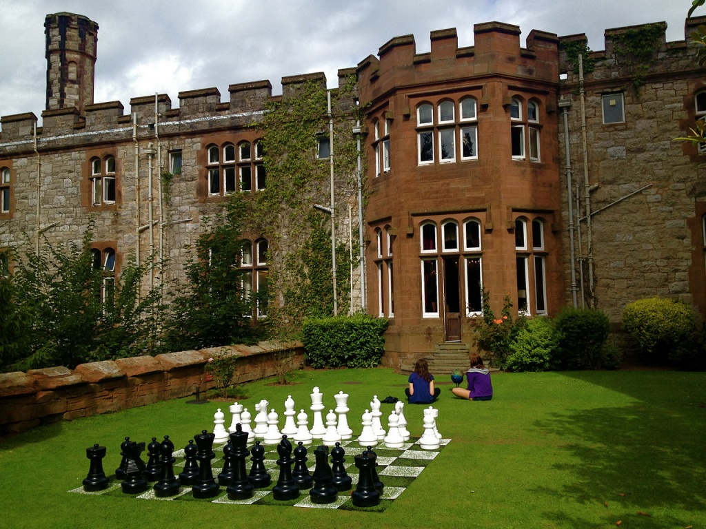 Ruthin Castle Moat Spa relaxar