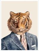 QLTL - Le Tigre, autoportrait