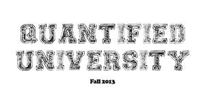 Quantified University