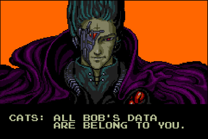 All Bob's Data Are Belong to You