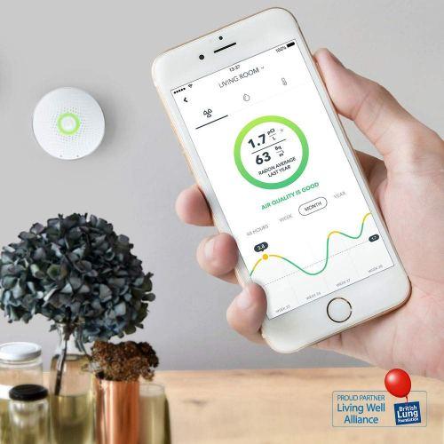 Airthings Wave Smart Radon Detector
