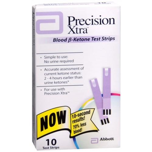 Precision Xtra Ketone Strips