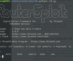 ¿Es tu router realmente seguro? Con RouterSploit puedes comprobarlo.