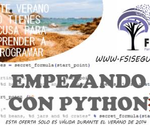 Nuevo curso FSI: Empezando con Python