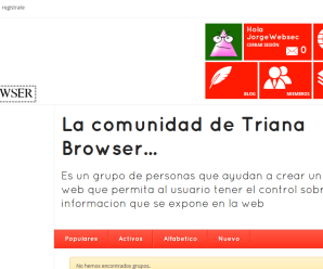 Comunidad Triana Browser